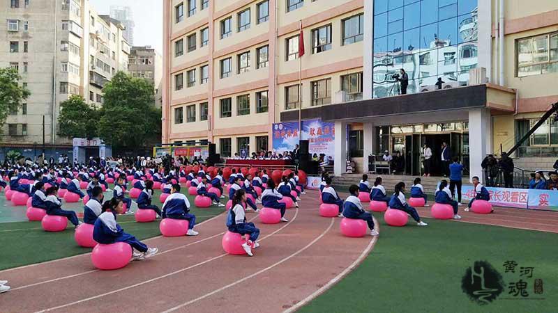 公司完成耿家庄小学首届全员运动会直播拍摄