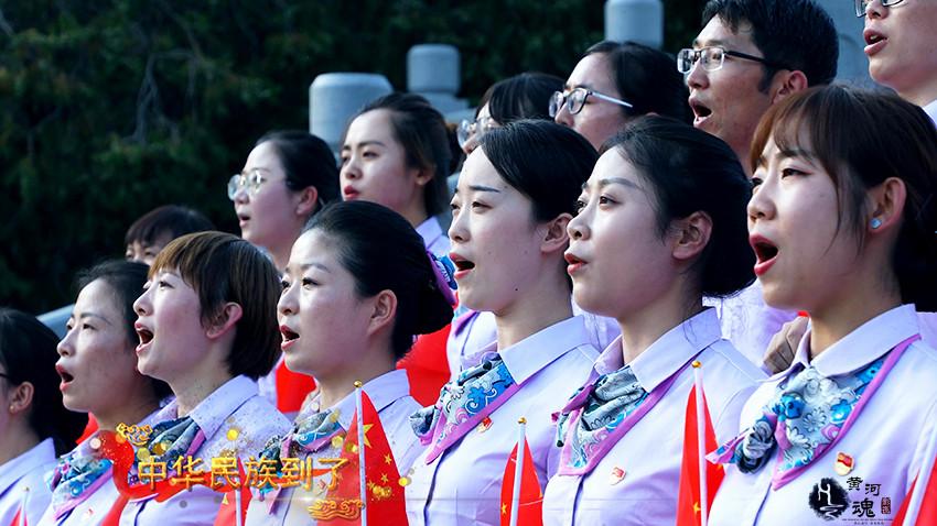 <b>农行甘肃分行共唱国歌微视频获最具人气第一名</b>